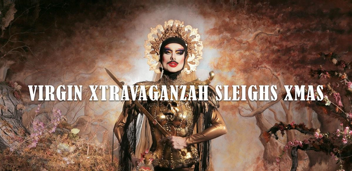 Virgin Xtravaganzah Sleighs Xmas tickets