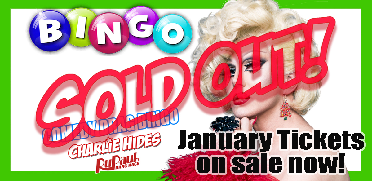 BUBBLY BRUNCH BINGO  - Charlie Hides tickets