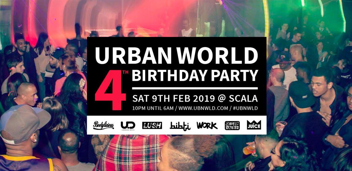 Urban World 4th Birthday Party tickets