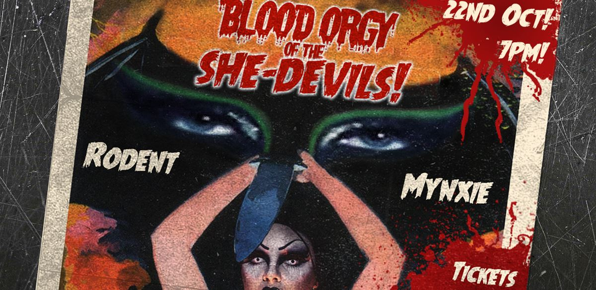 Blood Ørgy of The She-Devils! tickets