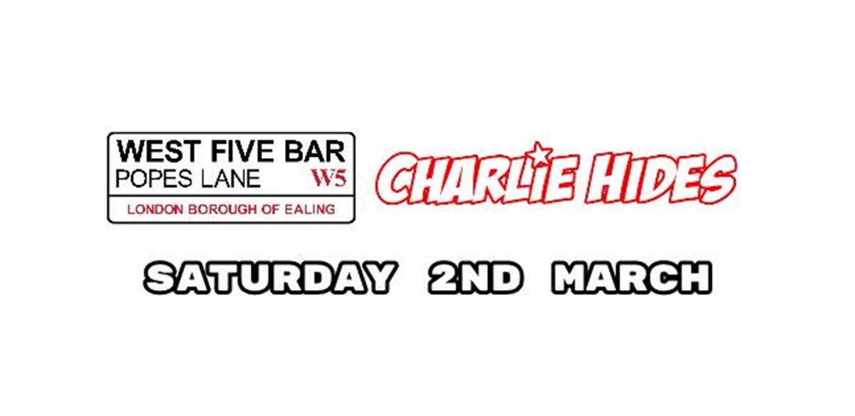 Charlie Hides  tickets