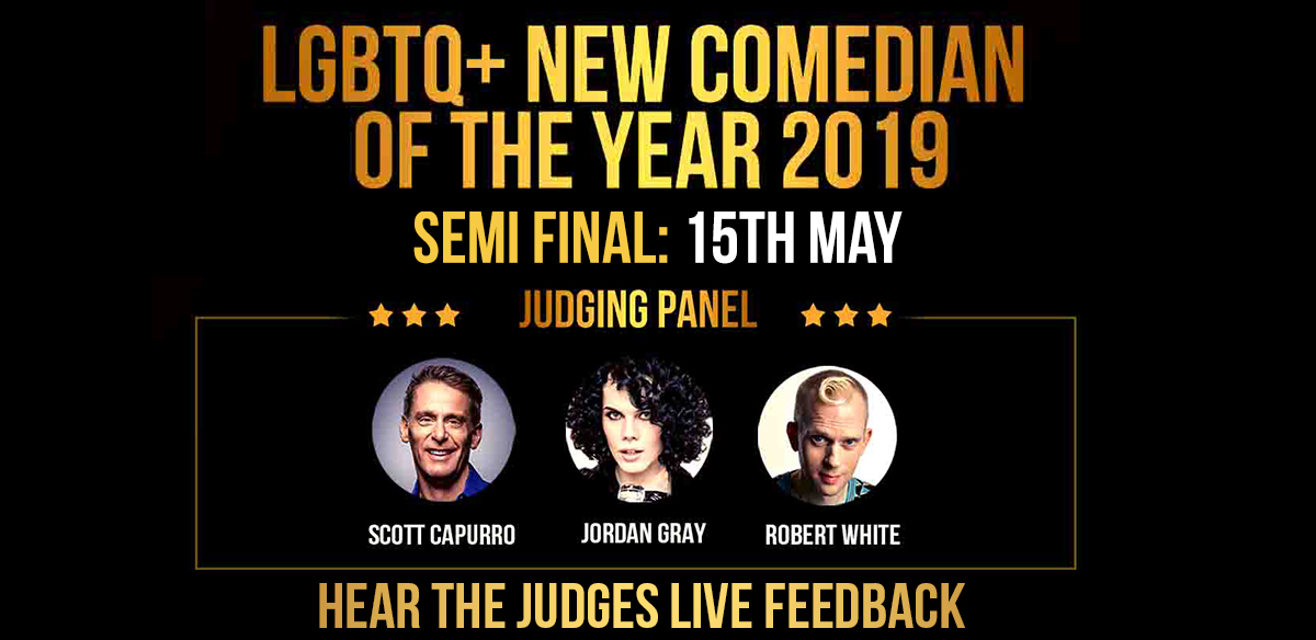 COMEDY BLOOMERS LGBTQ+ NEW COMEDIAN OF THE YEAR SEMI FINALS - EARLY BIRD TICKET OFFER tickets