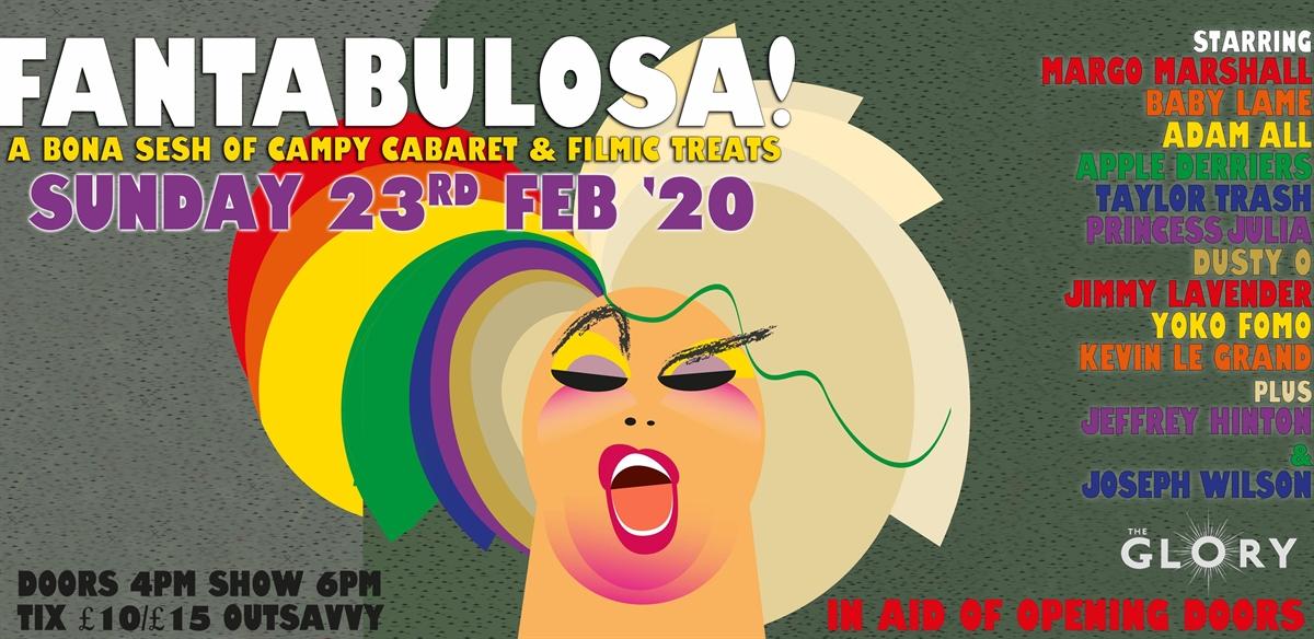 Fantabulosa! - Campy Cabaret & Filmic Treats tickets