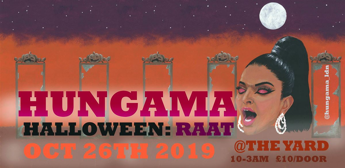 HUNGAMA HALLOWEEN PARTY: RAAT  tickets