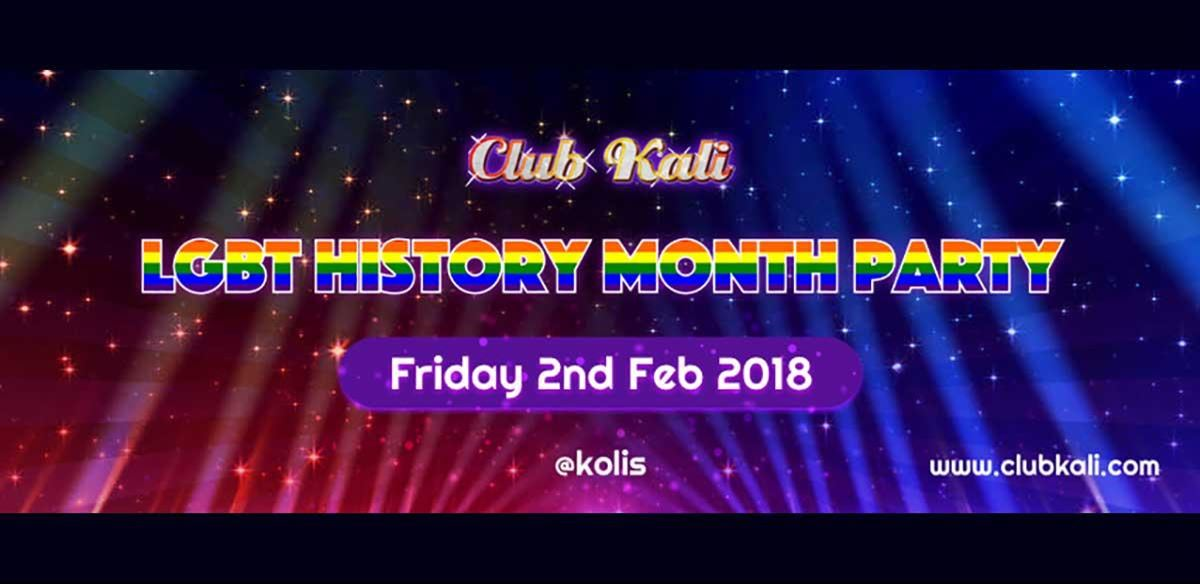 Club Kali's LGBT History Month Party tickets