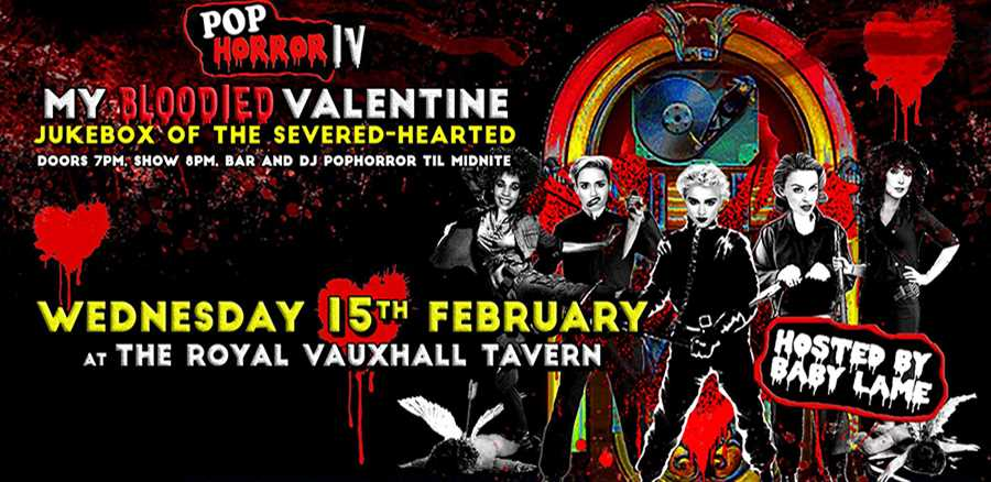 PopHorror IV - My Bloodied Valentine tickets