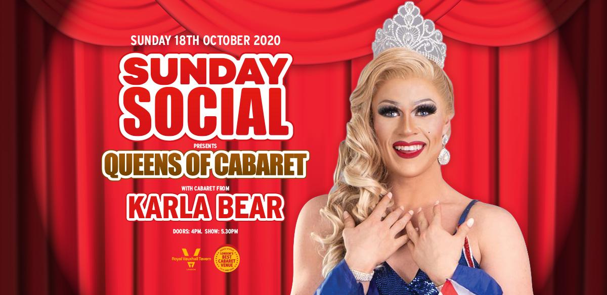 SUNDAY SOCIAL WITH KARLA BEAR  tickets