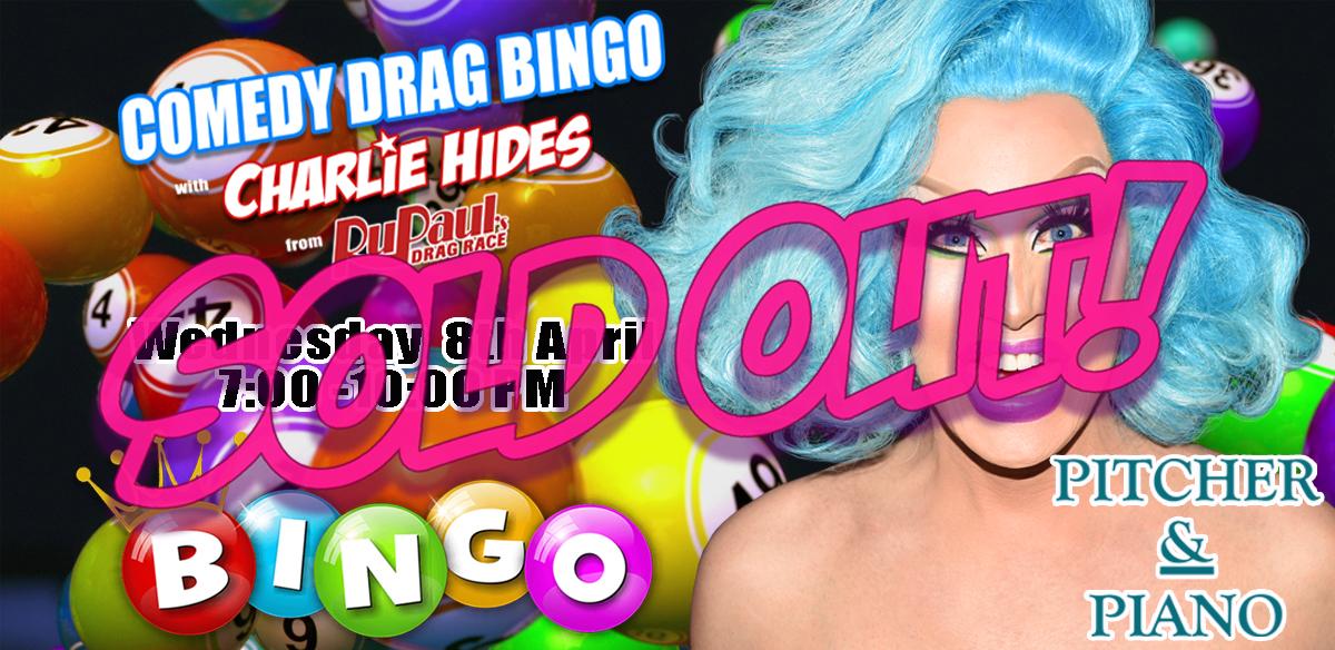 Drag Bingo with Charlie Hides tickets