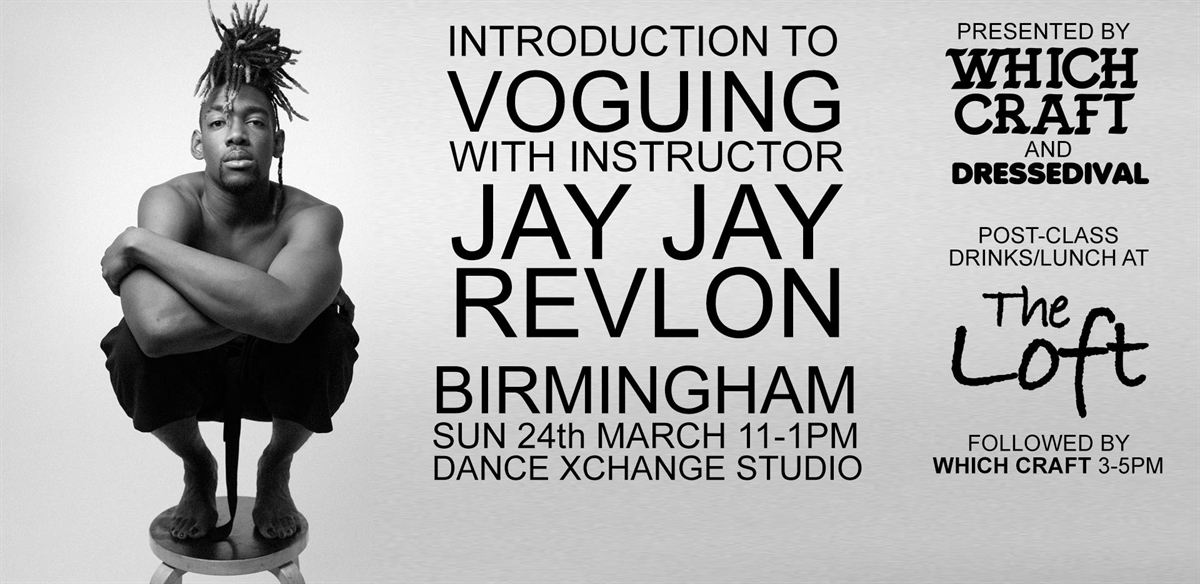 Voguing with Jay Jay Revlon | Birmingham Edition tickets