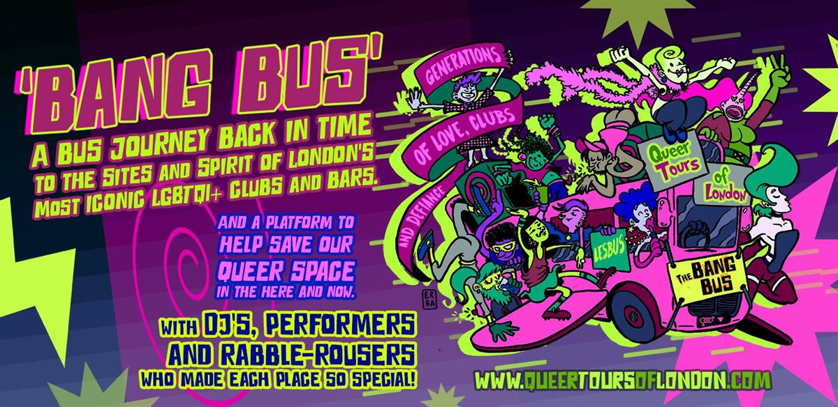 All aboard the BANG BUS! No 1. tickets