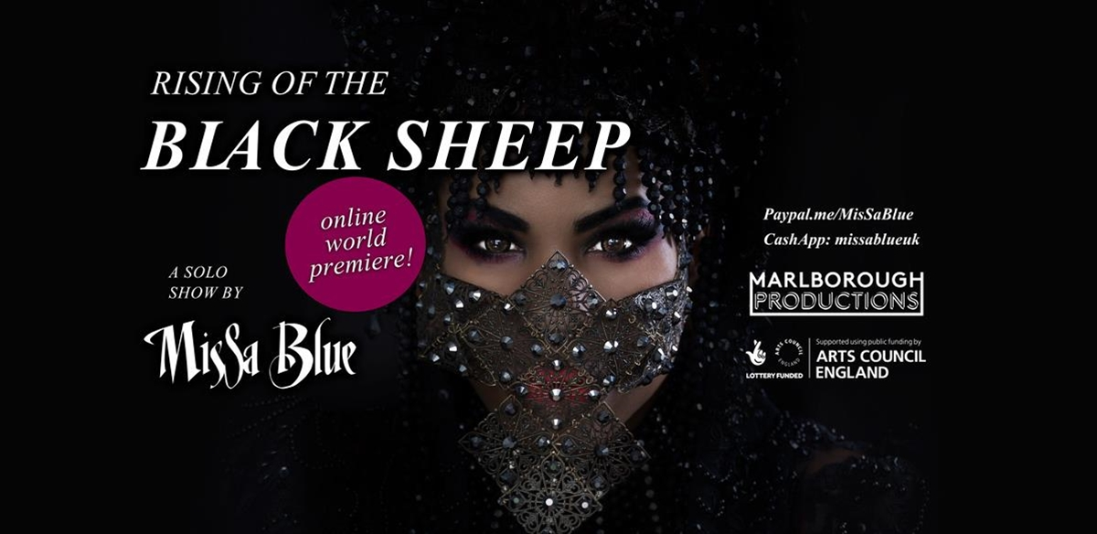 'Rising of the Black Sheep' A work in progress solo show by MisSa Blue  tickets