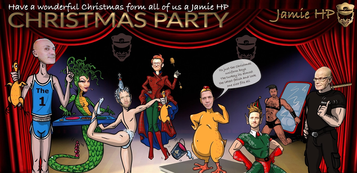 Jamie HP Christmas Party tickets