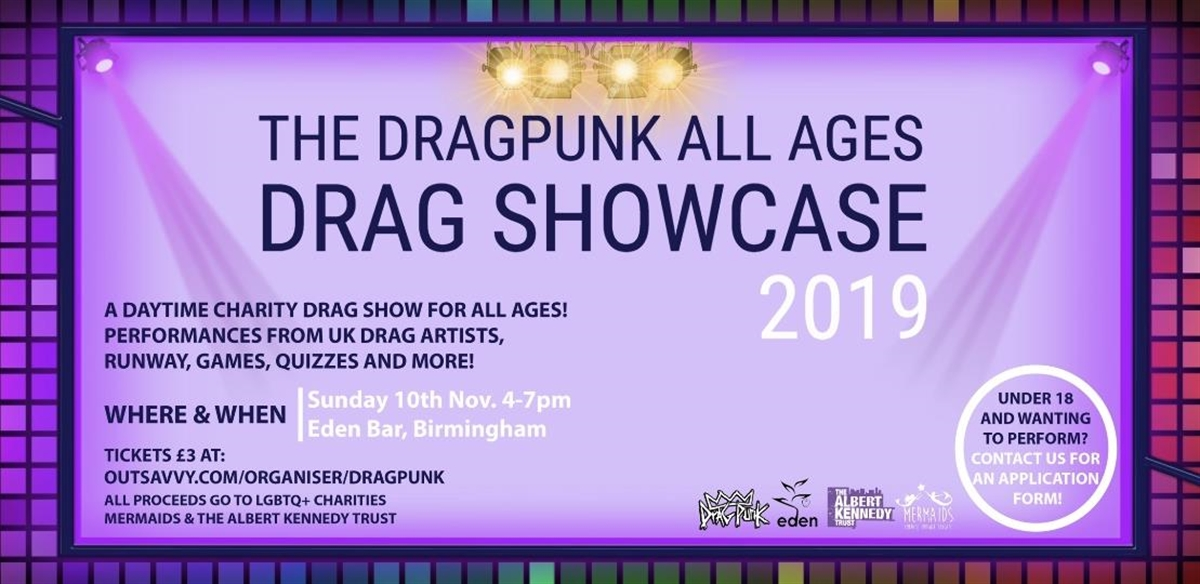 Dragpunk's All Ages Drag Showcase 2019 tickets