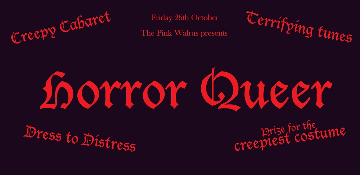 The Pink Walrus - Horror Queer tickets