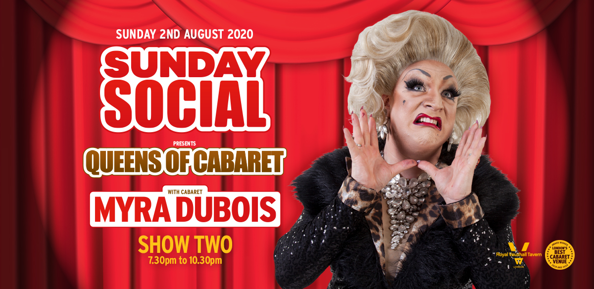 Sunday Social with Myra DuBois - Show Two  tickets
