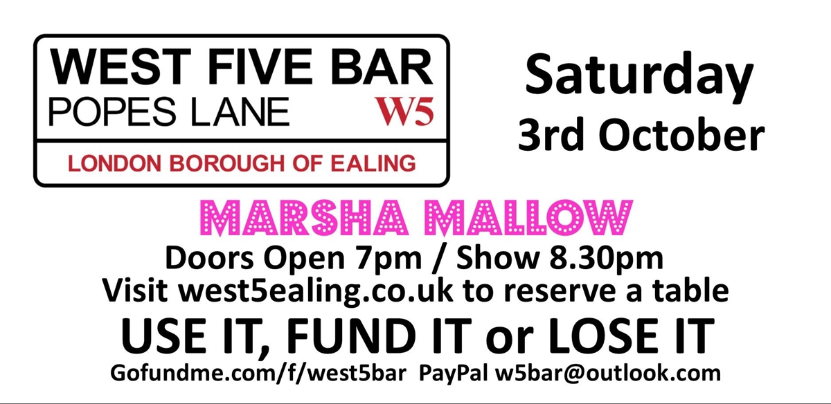 Saturday Night Live With Marsha Mallow tickets