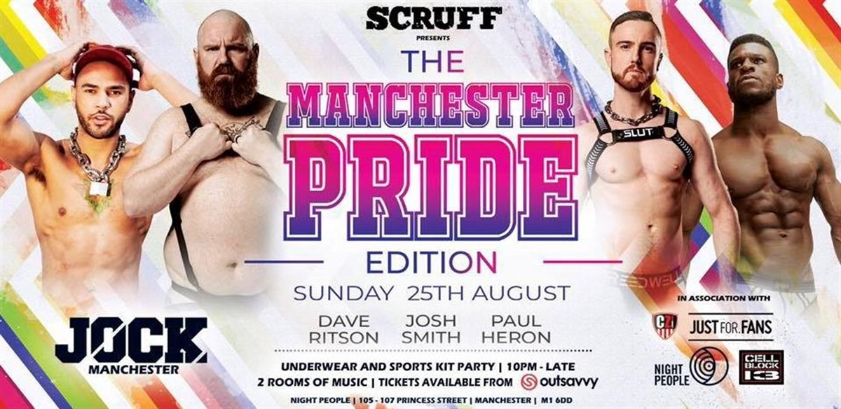 JOCK Manchester - The Pride edition  tickets