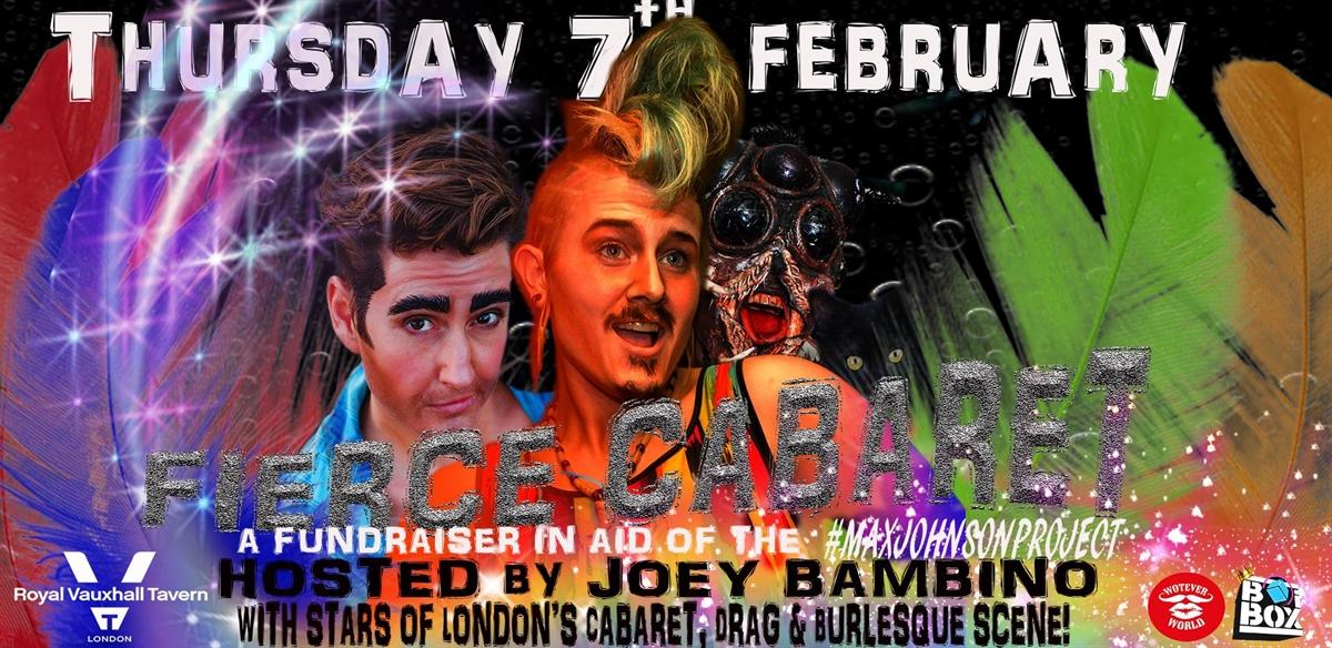 Fierce Cabaret Fundraiser  tickets