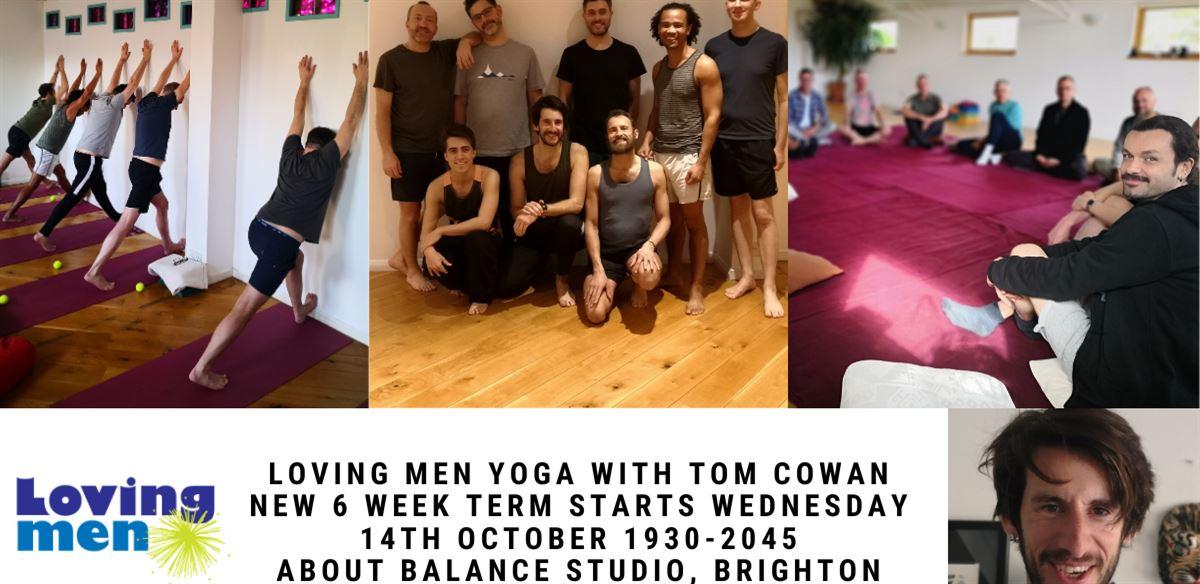 Loving Men Yoga with Tom Cowan  tickets