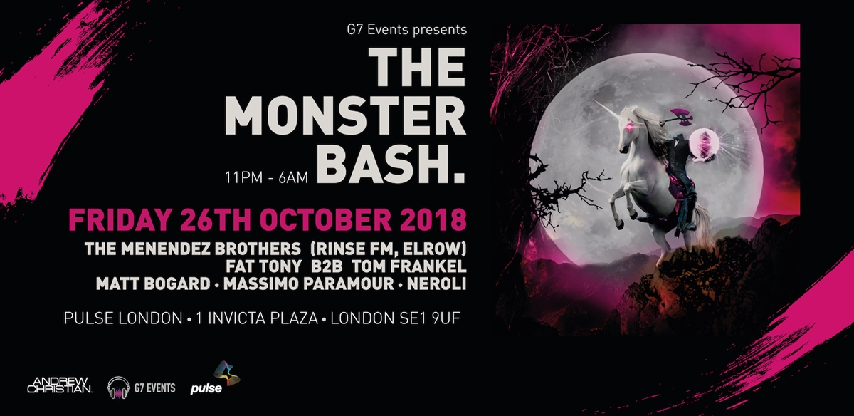 The Monster Bash: A Halloween Rave tickets