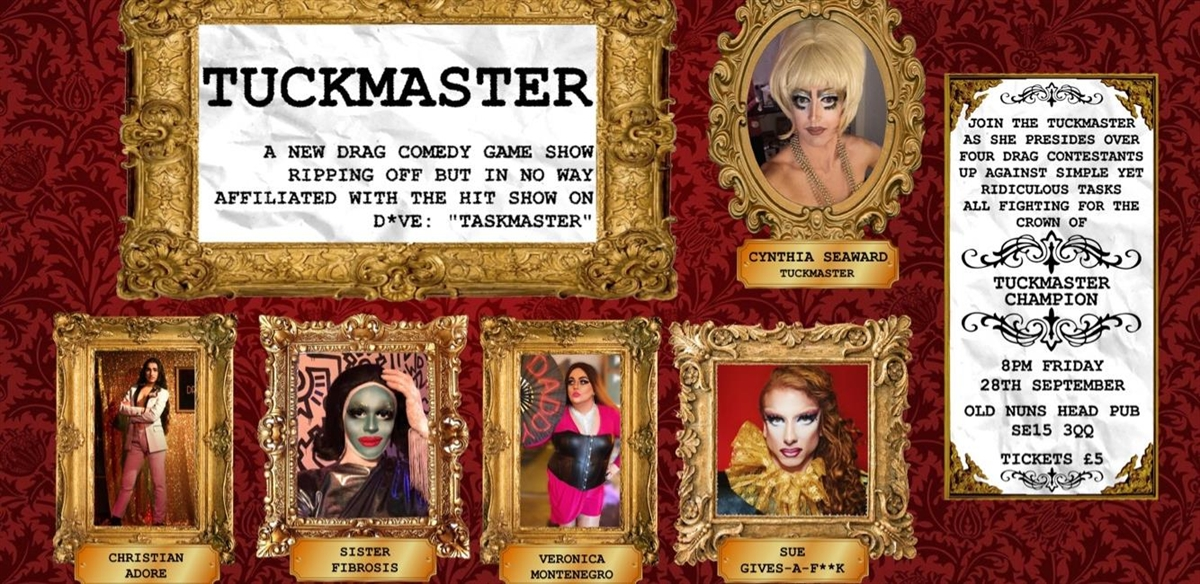 TUCKMASTER at The Old Nun's Head tickets