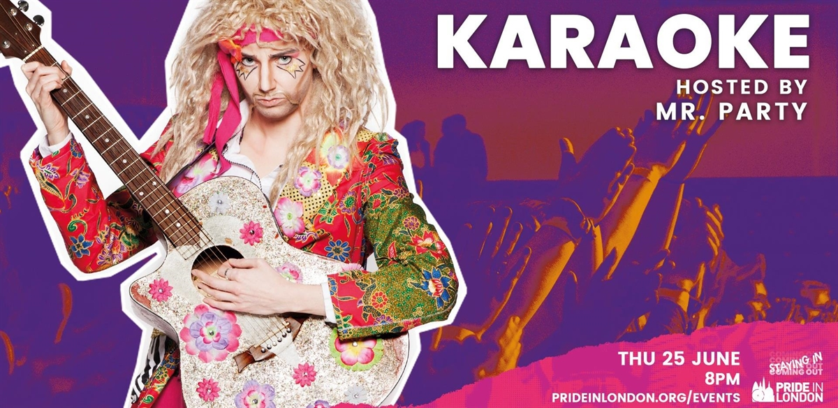 Pride in London's Karaoke with Mr Party tickets