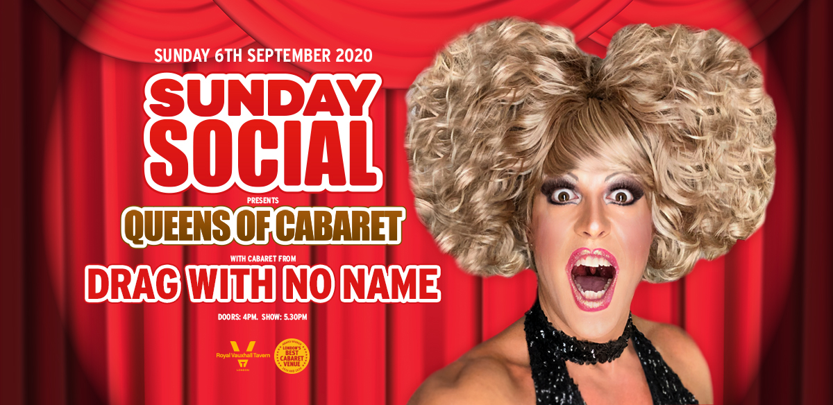Sunday Social with Drag With No Name tickets