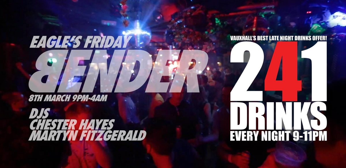 Eagle's Friday Bender tickets