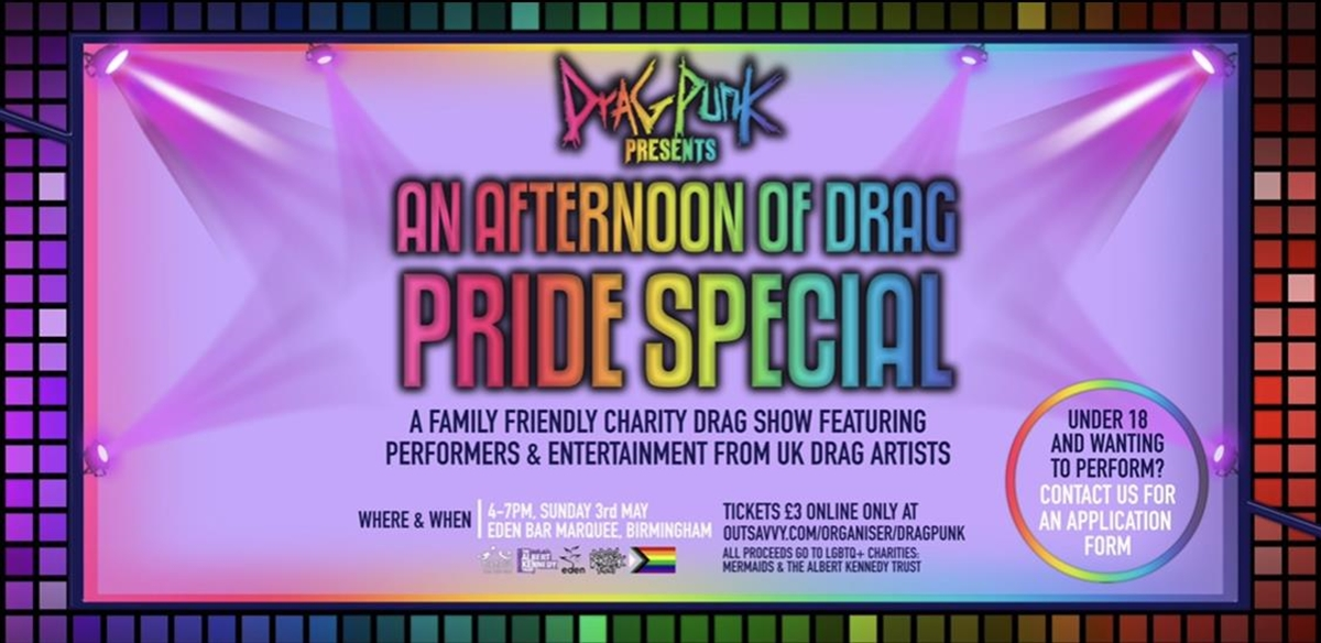 Dragpunk Presents An Afternoon Of Drag Pride Special tickets