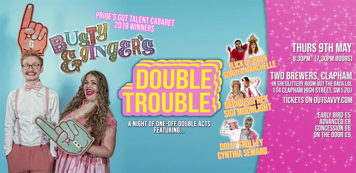 Busty & Ginger's Double Trouble! tickets