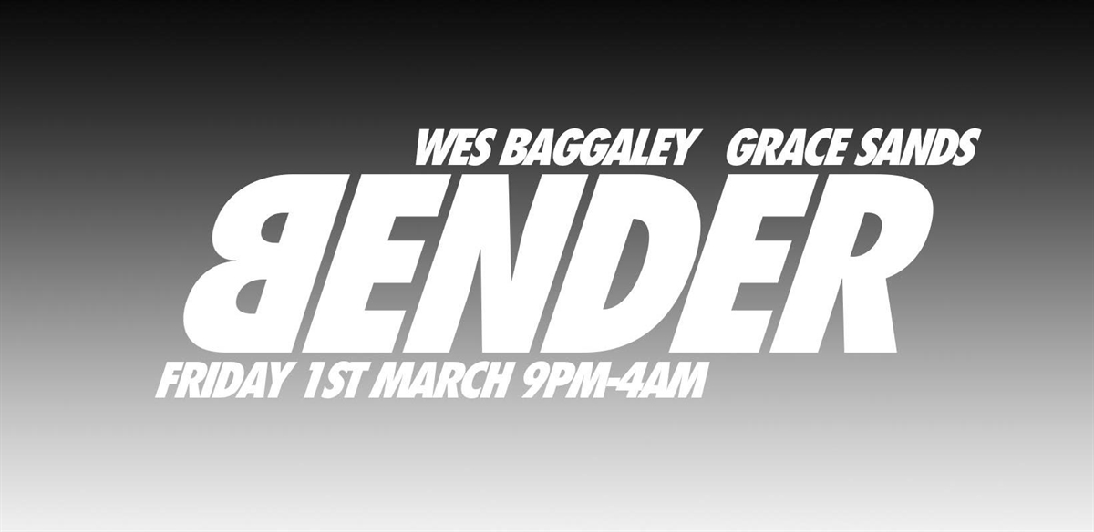 Bender (Grace Sands / Wes Baggaley) tickets