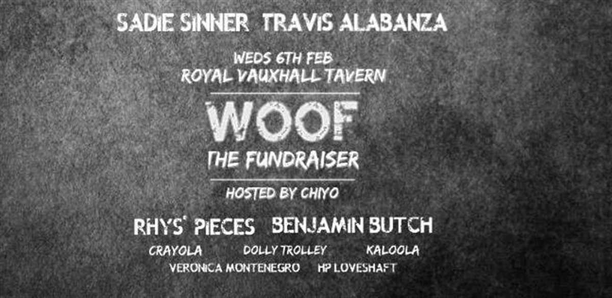 Woof - The Fundraiser  tickets