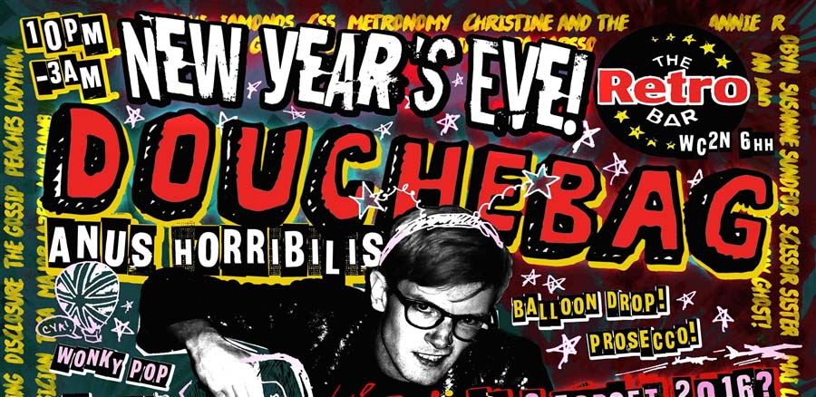 DOUCHE BAG NYE: TAKE A TRUMP ON 2016! tickets