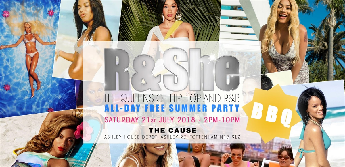 R & She: All Day Free Summer Party! tickets