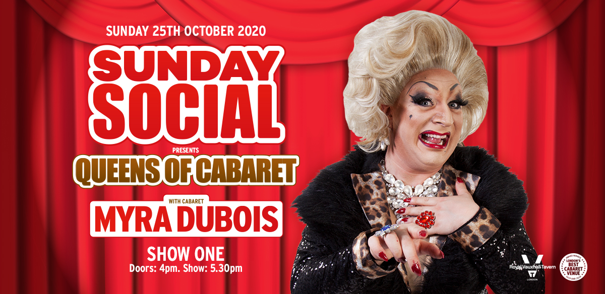 Sunday Social with Myra DuBois - Show One  tickets