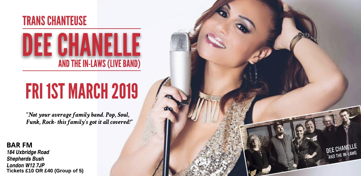 TRANS chanteuse Dee Chanelle & the in-laws celebrate Granpa Andy's Birthday and Retirement DO! tickets