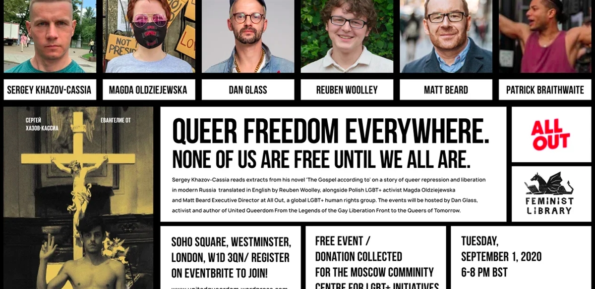 'Queer Freedom Everywhere in Soho Square'  tickets