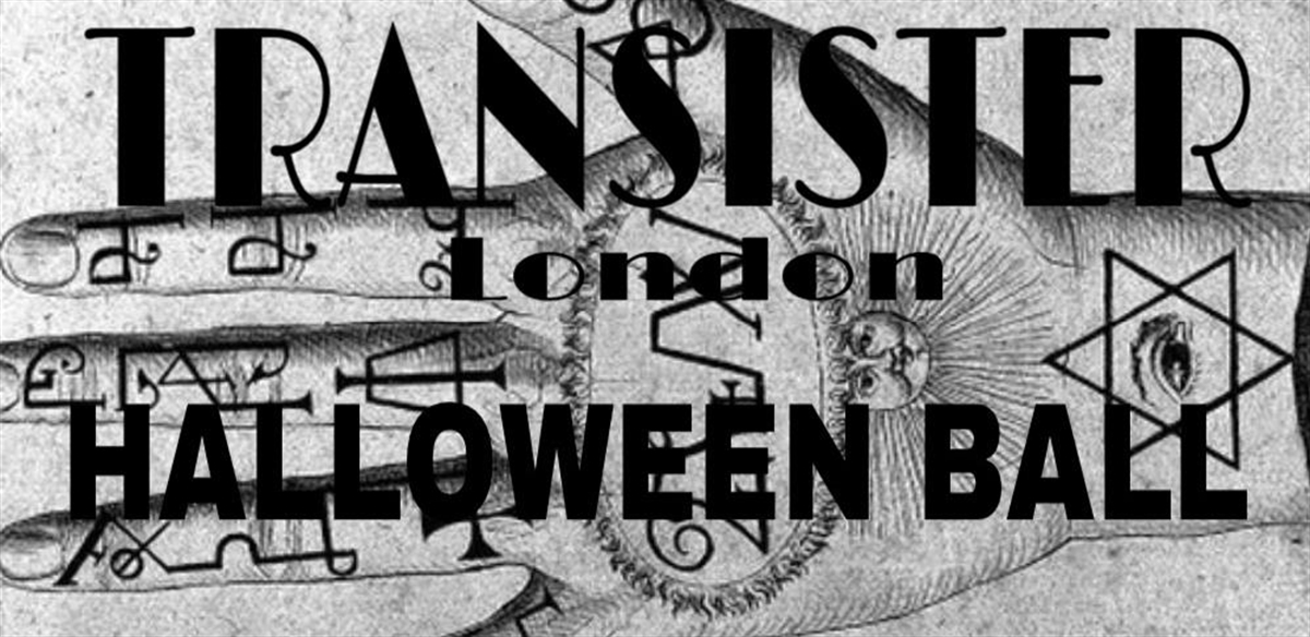 TRANSISTER Halloween ball  tickets