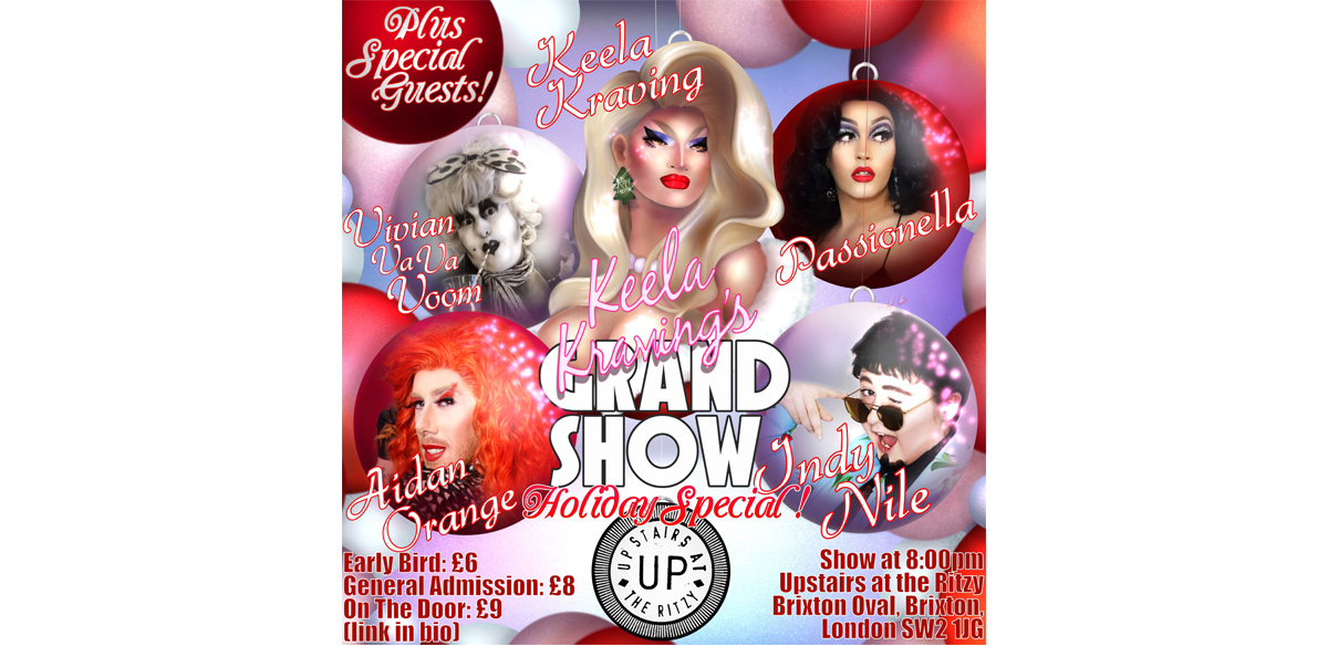 Dragged Upstairs at the Ritzy (Keela's Takeover!) tickets