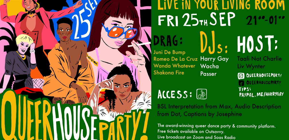 Queer House Party: LIVE in Your Living Room Vol.16  tickets
