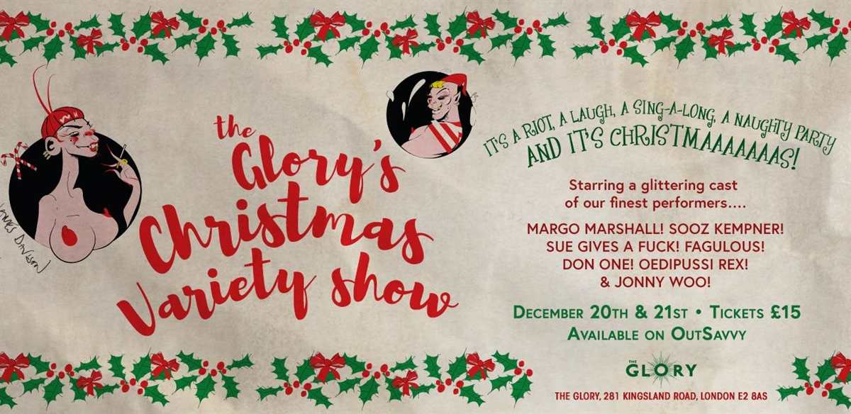 The Glory's Christmas Variety Show tickets