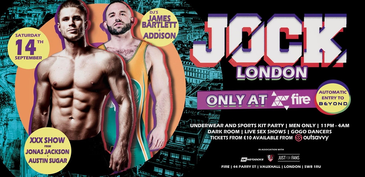 JOCK London at Fire tickets