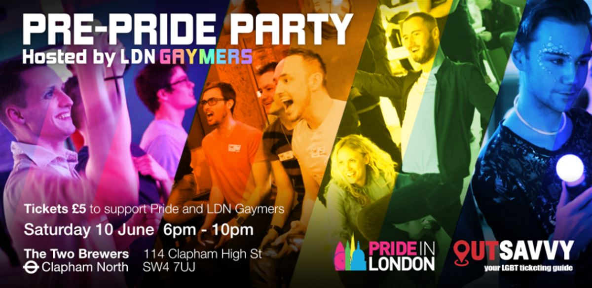 Pre-Pride Party hosted by LDN Gaymers tickets
