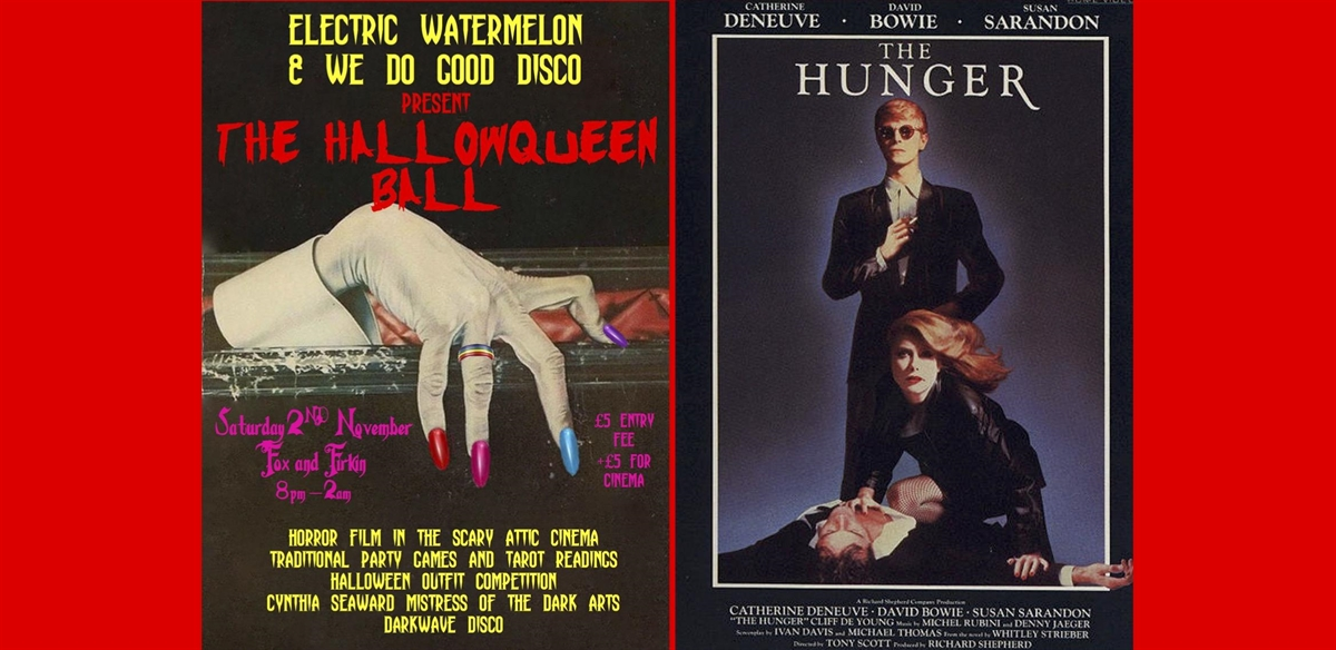 The HallowQueen Ball / The Hunger (1983) film screening tickets