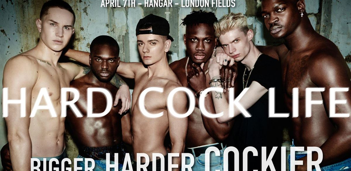 HARD COCK LIFE: Bigger. Harder. Cockier.
