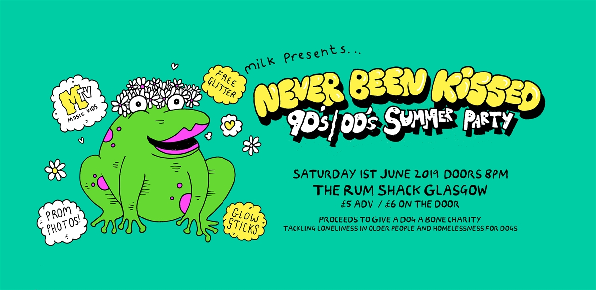 Never Been Kissed 90s 00s Summer Party! tickets