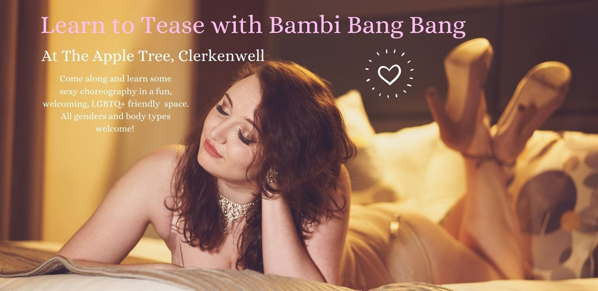 Learn to Tease: Classes with Bambi Bang Bang tickets