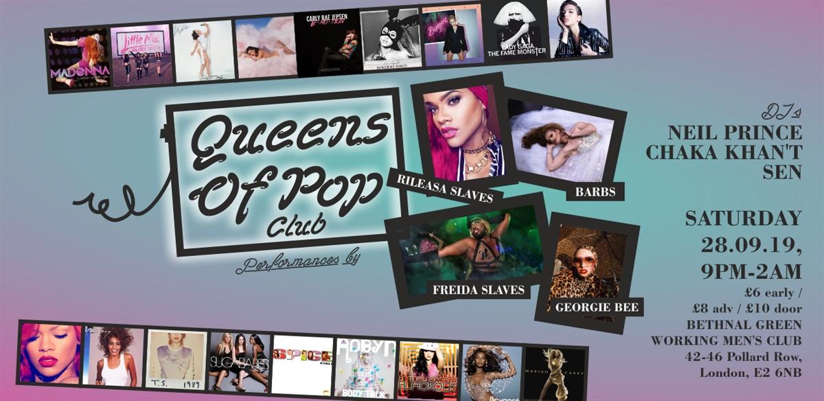 Queens Of Pop Club tickets