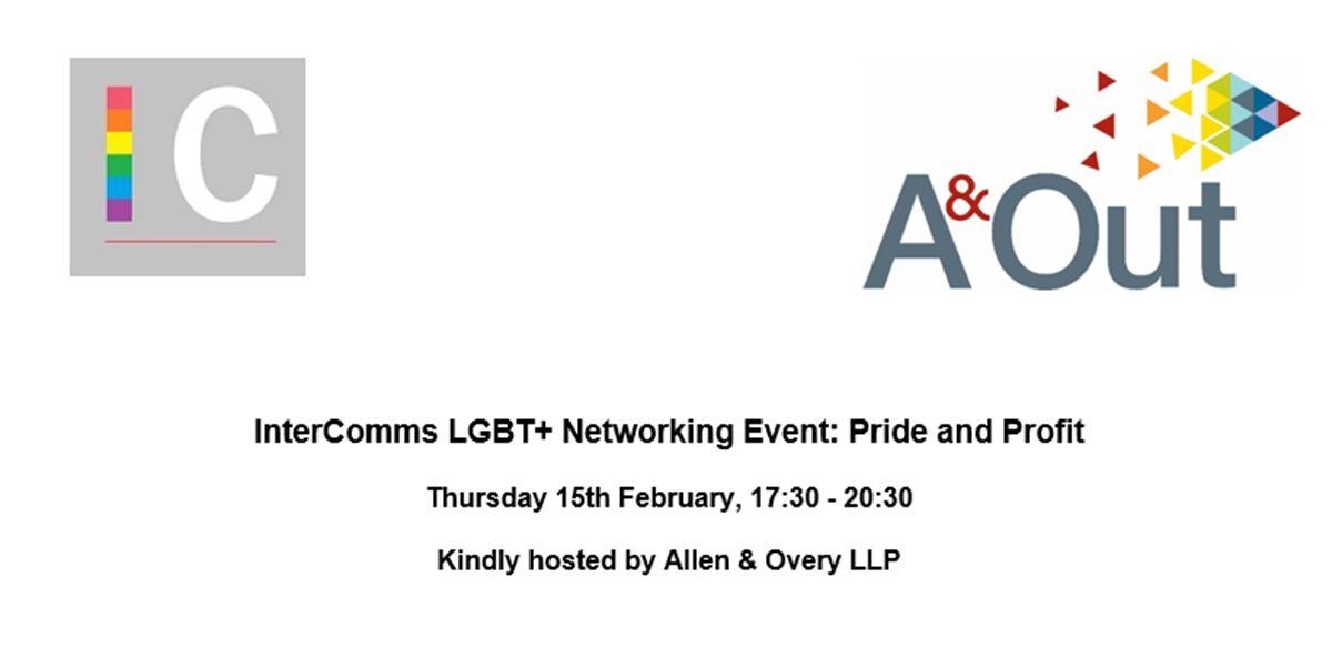 InterComms: Pride & Profit tickets