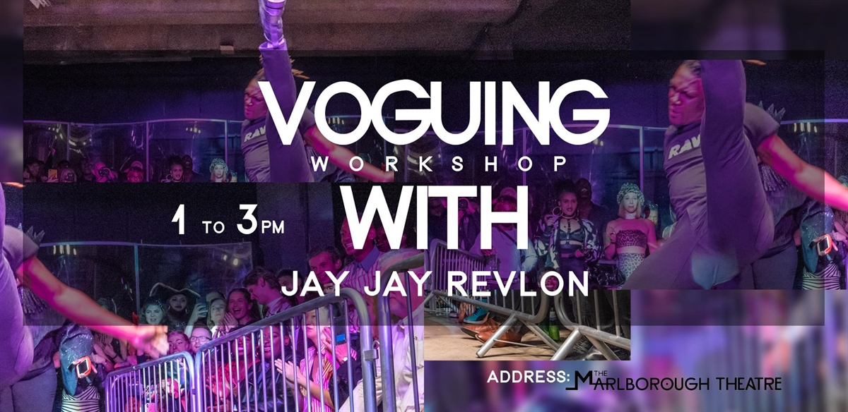 Voguing With Jay Jay Revlon #BrightonEdition tickets